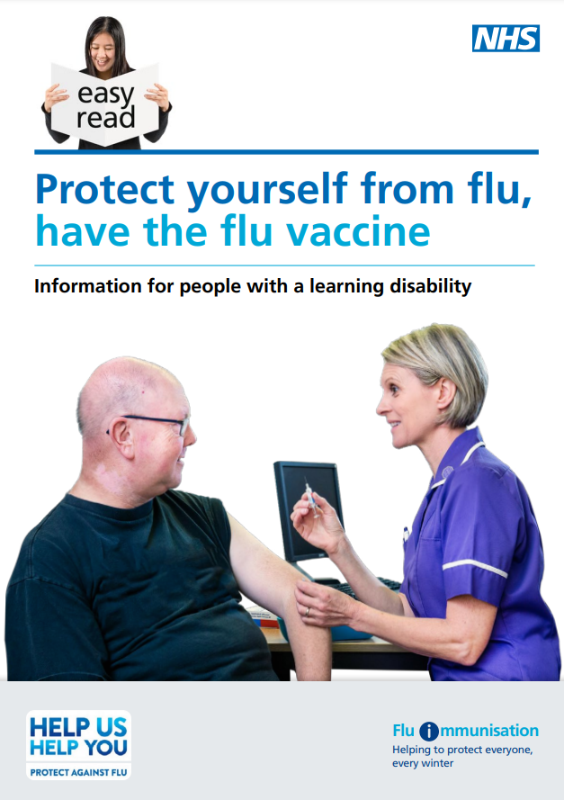 Protects yourself against flu - easy read